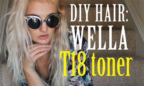 I Used Wella's T18 Toner In This How-to And Salon Care 20