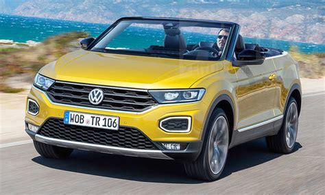 volkswagen t roc cabrio 2020 vw t roc cabrio 2020 neue fotos autozeitung de