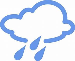 Rainy Weather Symbols Clip Art at Clker.com - vector clip ...