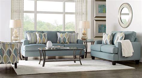 cypress gardens blue  pc living room living room sets