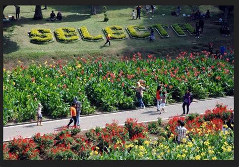 tiket masuk taman kebun bunga kota medan  harga