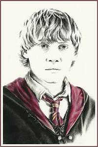Harry Potter cast drawings by Jenny Jenkins - Harry Potter ...