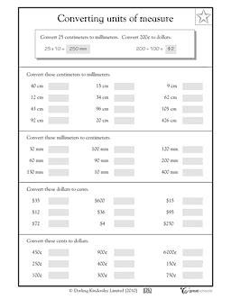 converting units of measure homeschool measurement