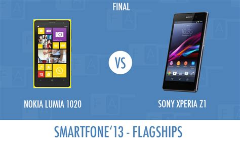 xperia z1 vs nokia lumia 1020 finale for bes sony xperia z1