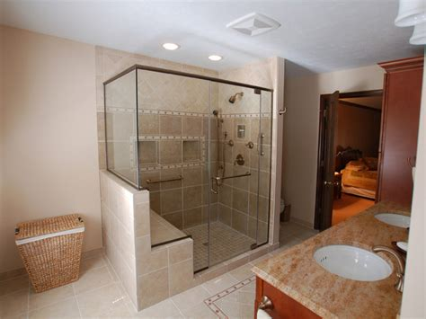 Bathroom Shower Bench, Shower Pan With Bench Tile Shower