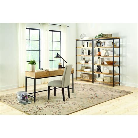 Home Decorators Collection Anjou Natural Open Bookcase