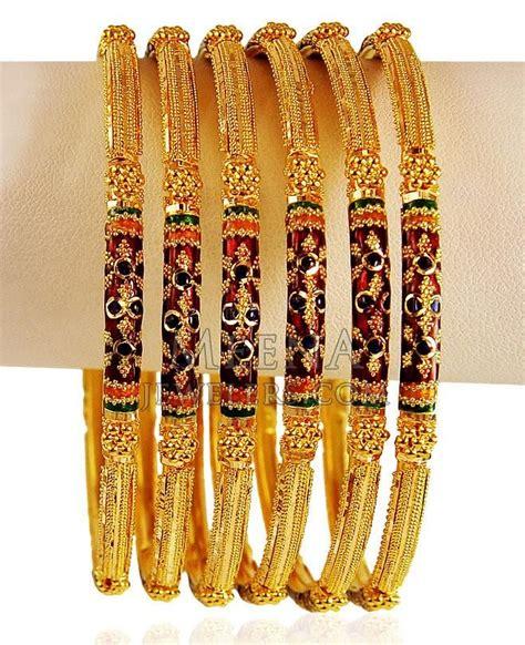 133 best meenakari gold bangles on gold bangles gold bracelets and bangle