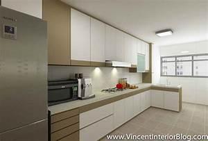 yishun 5 room hdb renovation by interior designer ben ng With 3 room hdb kitchen renovation design