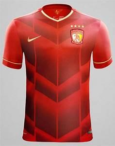 Guangzhou Evergrande New Jersey 2015- GZ Evergrande Nike ...