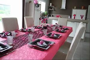 Anniversaire 18 Ans Deco : id e d co table anniversaire 18 ans fille ~ Preciouscoupons.com Idées de Décoration