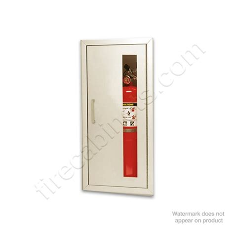 larsens extinguisher cabinets 2409 r4 larsen s stainless steel recessed 5 16 quot projection