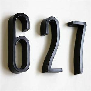 house proud signs and numbers urbano house numbers With metal address letters