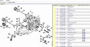 Stihl 029 Parts List Diagram