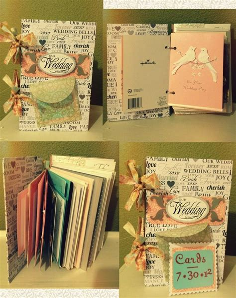 wedding card book wanted to save all the pretty cards i