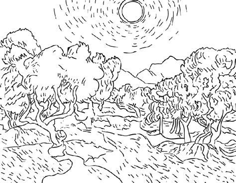 la chambre de gogh à arles dididou coloriage de peintures page 3