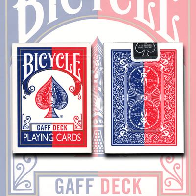 Bicycle Gaff Deck Tricks by Gaff Effect Deck Bicycle Blue By Uspcc Trick
