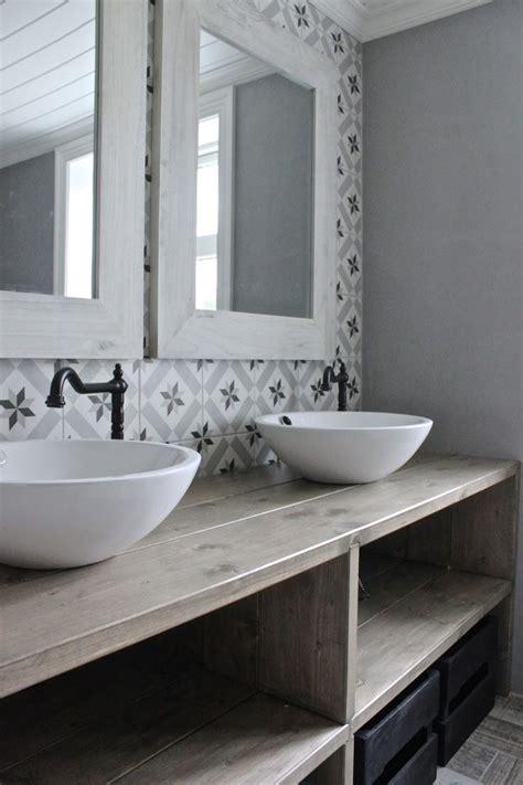 rustic bathroom tile salle de bain retro rustique carrelage graphiques esprit Rustic Bathroom Tile