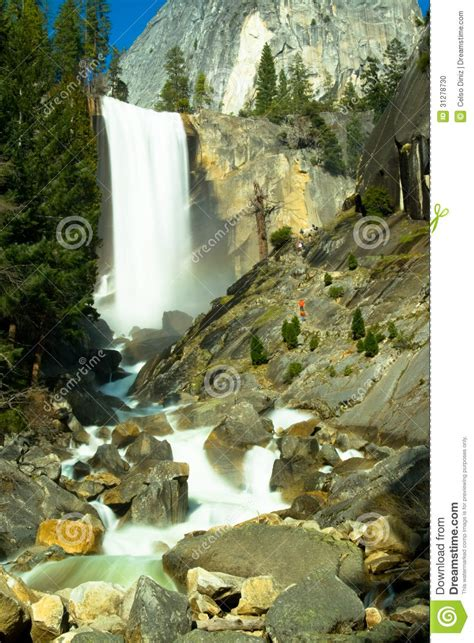 Waterfall Stock Photo Image