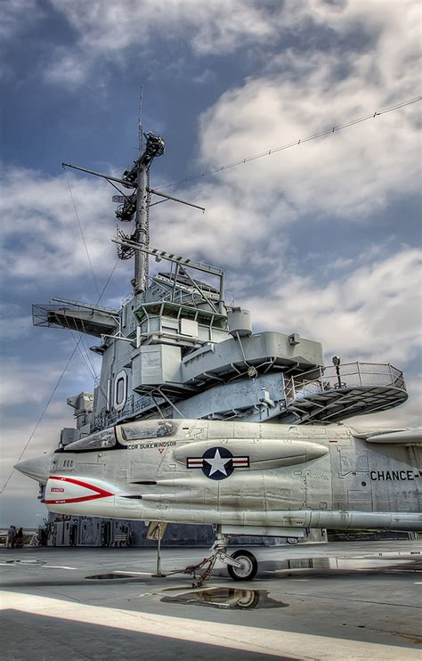 Flight Deck Shopping Center Sc by Flight Deck Of The Yorktown Michael Criswell Photography