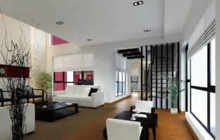 minimalist interior design stairs and partition interior design