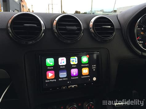 Alpine Ilx Apple Carplay Android Auto Autofidelity