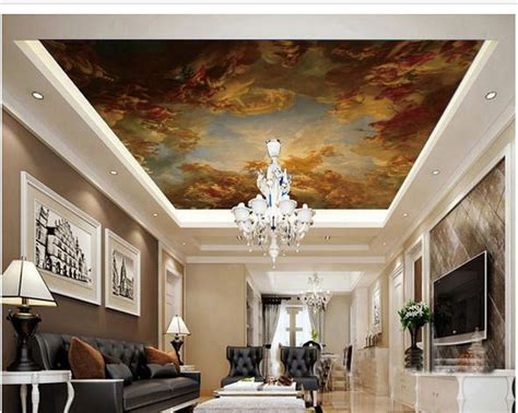 Style Setting Ceilings by Custom Photo Wallpaper 3d Wall Murals Wallpaper The Middle