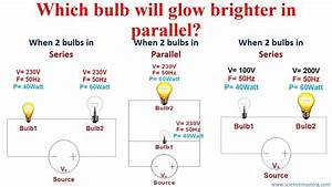 Which Light Bulb Will Be Brighter Physics