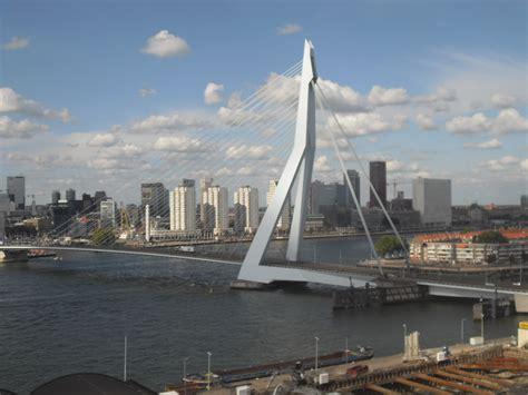 erasmusbrug erasmus bridge rotterdam  netherlands architecture