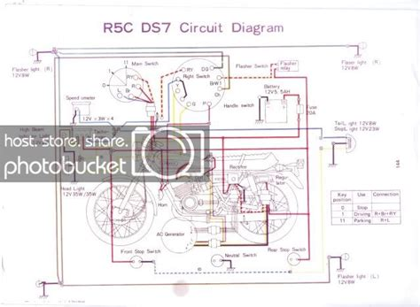 Yamaha R5 Wiring Diagram yamaha ds7 r5 wiring diagram