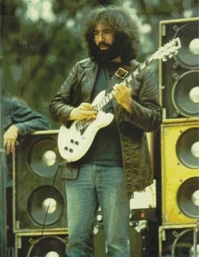 Jerry Garcia Grateful Dead Band Rock Concert