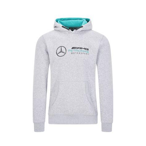Mercedes amg petronas f1 logo hooded sweatshirt graytop rated seller. Mercedes AMG - Mercedes Benz AMG Petronas F1 Logo Hooded Sweatshirt Black/Gray Size: XL, Color ...