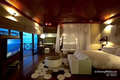 chambre sur pilotis maldives galerie de photos de l 39 hôtel huvafen fushi maldives