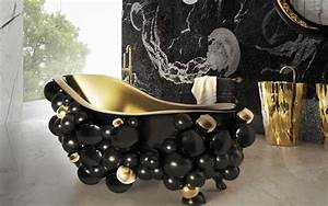 Bad Accessoires Gold : luxus badezimmer 10 inspirative ideen f r ein bad in gold ~ Whattoseeinmadrid.com Haus und Dekorationen