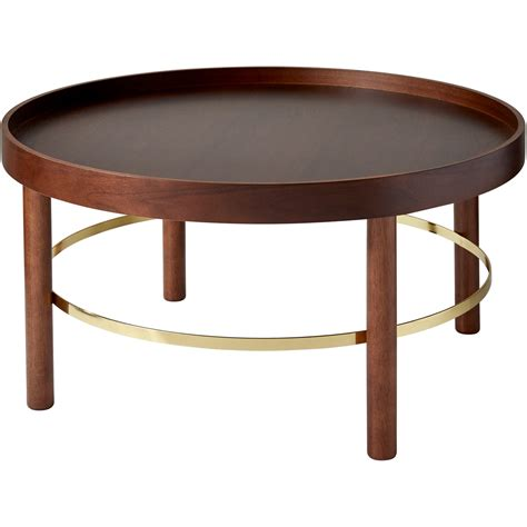 Montgomery Coffee Table (walnutgold) By Adesso Furniture