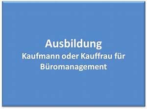 Kauffrau Im Büromanagement : ausbildung kaufmann kauffrau f r b romanagement ~ Orissabook.com Haus und Dekorationen