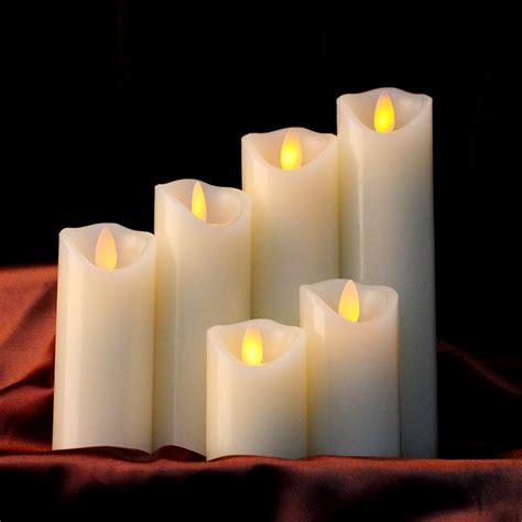 flameless led wax candle lightchristmas candle supplies
