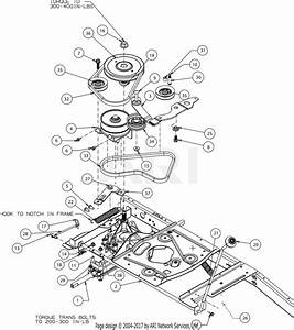 Troy Bilt Tb30  13a726jd066   2017  Parts Diagram For Drive
