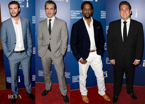 Hollywood Foreign Press Association's 2013 Installation Luncheon Menswear Round Up