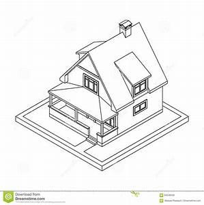 Disegno Interno Casa Da Colorare