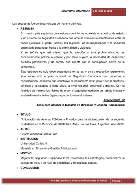 Apa Resumen Ejecutivo by Conclusiones De Un Resumen Ejecutivo Health Description Resume What Does