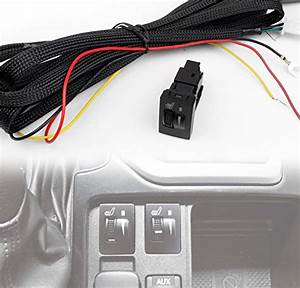 Zmautoparts 2x Heated Seat Heater Pad W  Switch Toyota