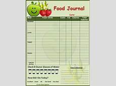 Food Diary Template beepmunk