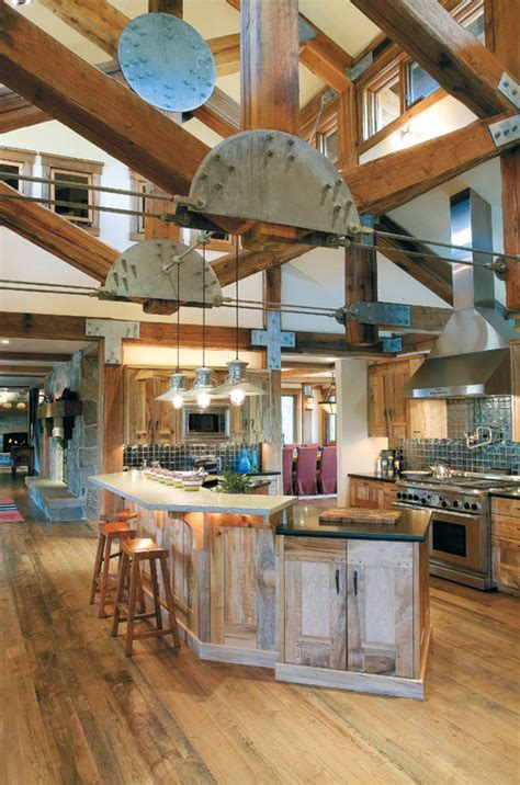 Rustic Industrial Interior Design Exles by Industrial Rustic Design Sustainable Lumber Company