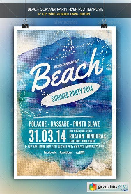 Beach Land Free Flyers Psd Templates by Free Images Of Beach Party Impremedia Net