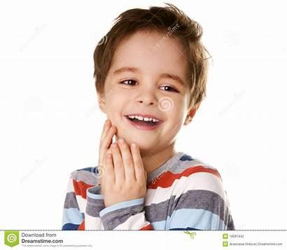 Happy Kid Boy Portrait Smiling