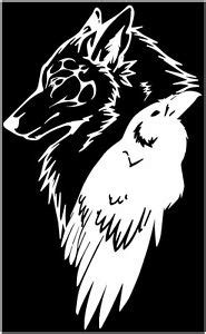 odin thor viking norse wolf raven rune protection sticker