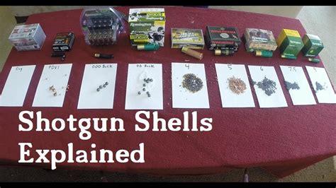 shotgun shells explained youtube