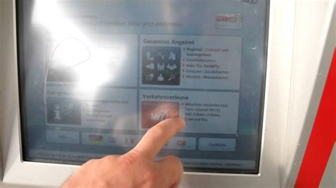 deutsche bahn fahrkartenautomat youtube