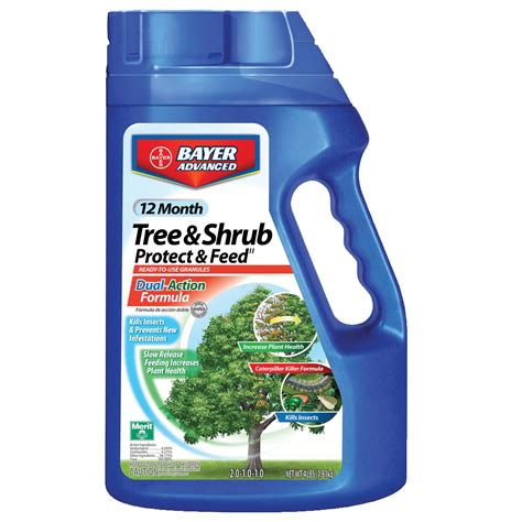 bayer   month tree shrub protect feed gran lawn garden outdoor tools supplies