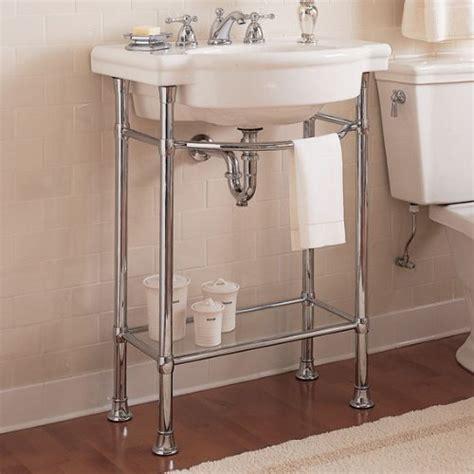 pedestal double sink console sink metal console native home garden design